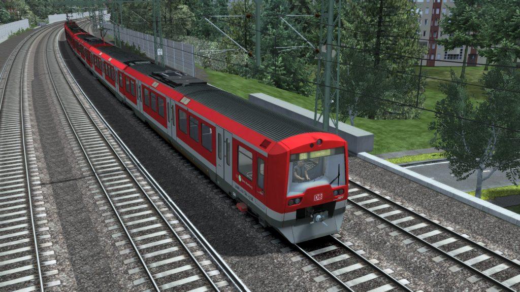 Simulated Erk: Train Simulator episode 3 | Hamburg