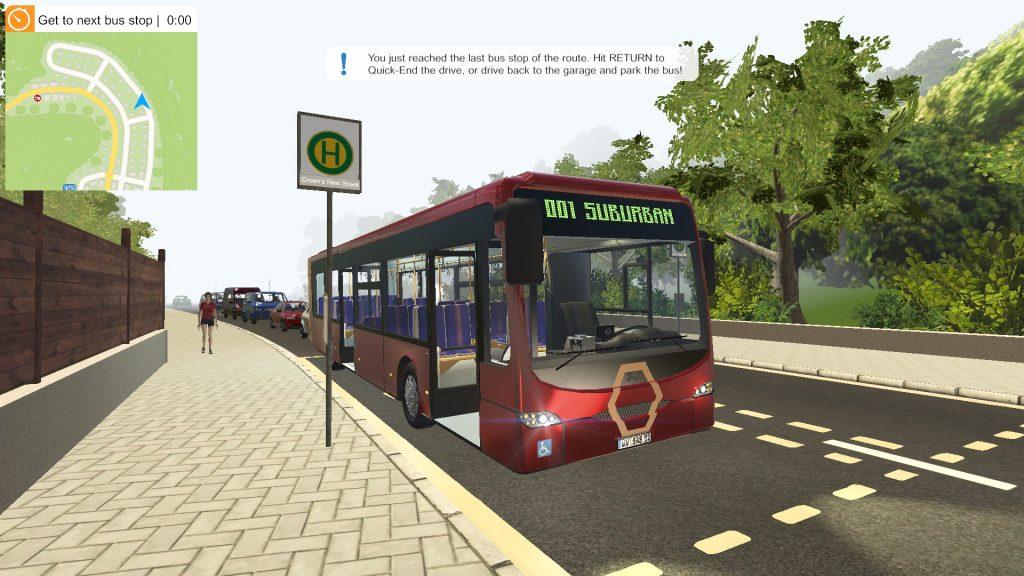Simulated Erk: Bus Simulator 2016 episode 2   Residential District