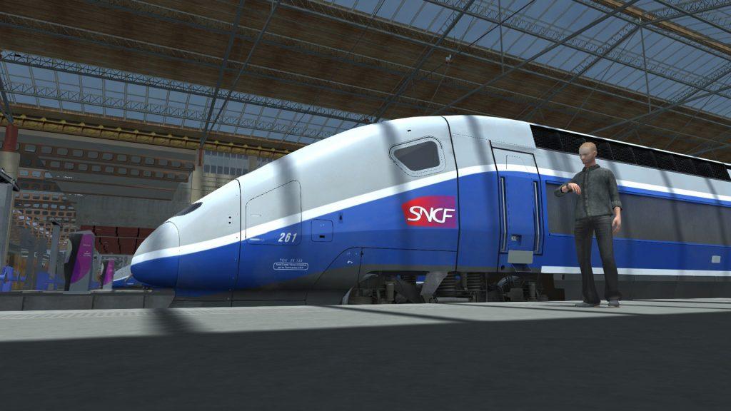 Simulated Erk: Train Simulator episode 1 | France, TGV