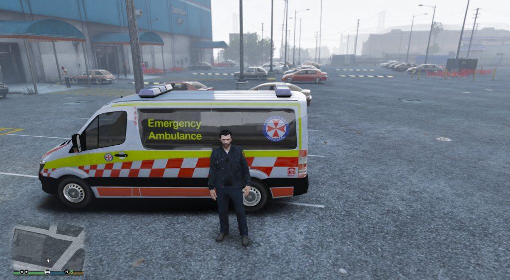 Simulated Erk: Los Santos Emergency Red episode 2 | Paramedics
