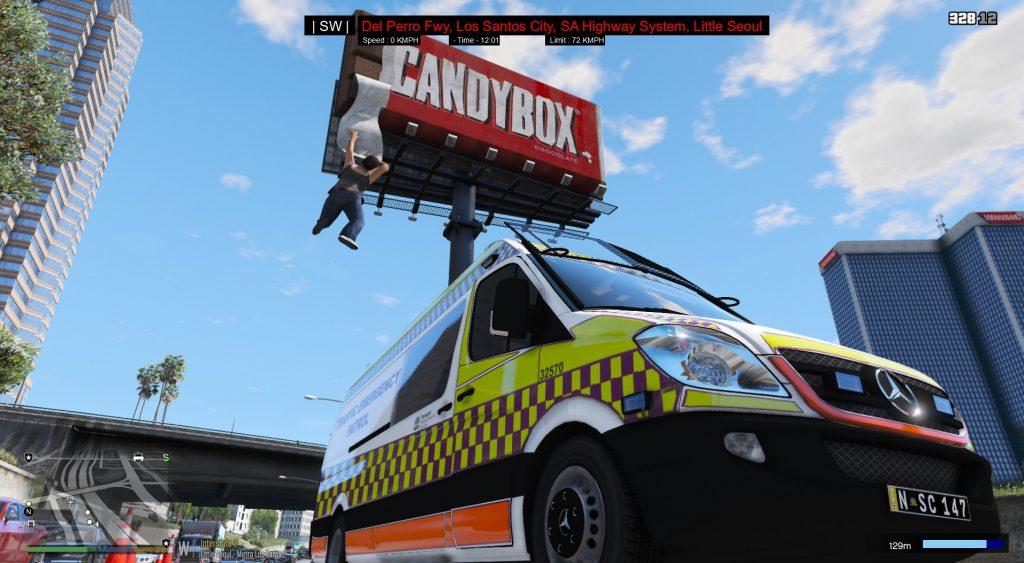 Simulated Erk: Los Santos Emergency Red episode 3 | Emergency Traffic Patrol