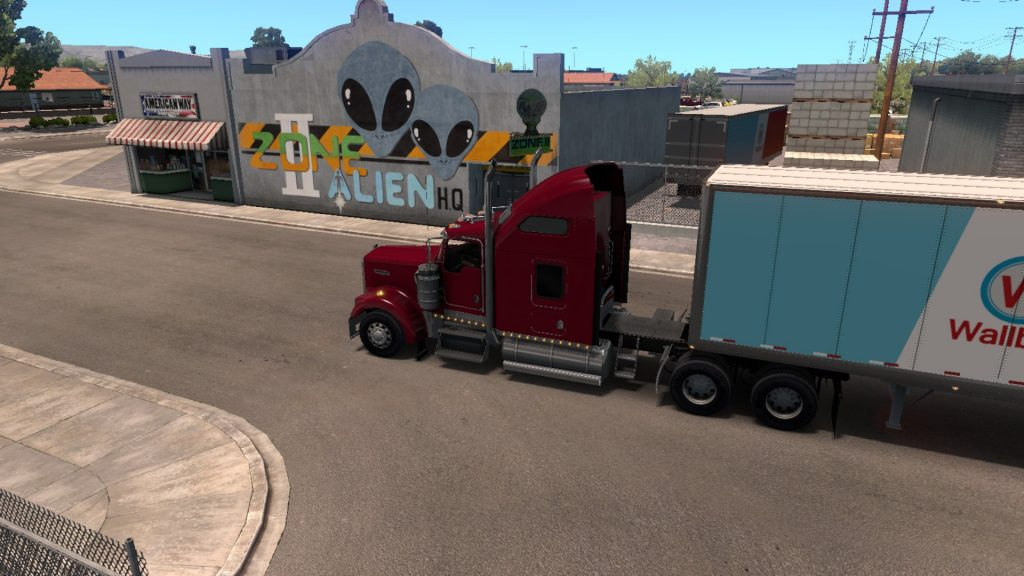 Simulated Erk: American Truck Simulator episode 11 | New New Mexico Is Huge!