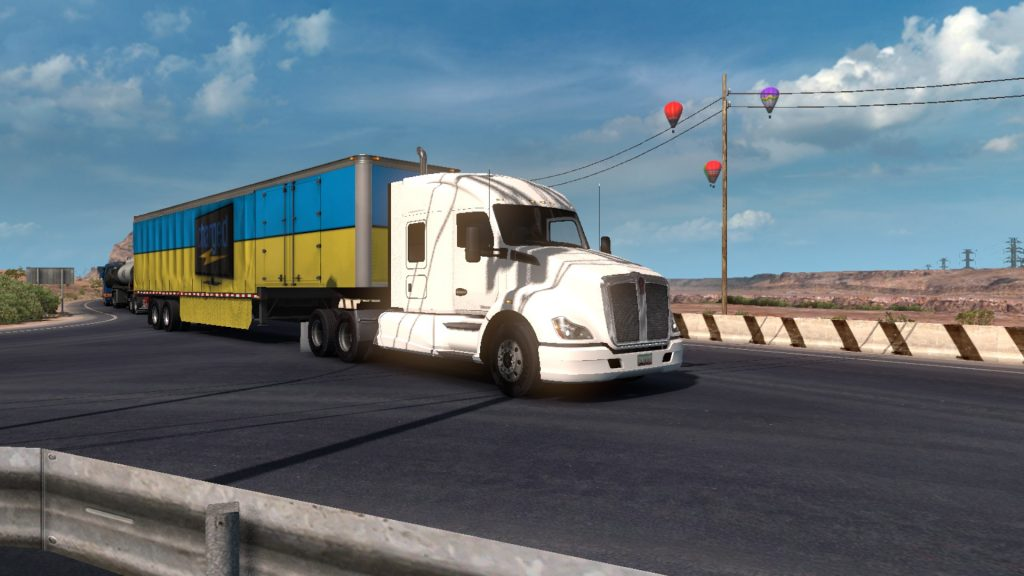 Simulated Erk: American Truck Simulator episode 14 |  XXXX Rated Page Ruins The Trip