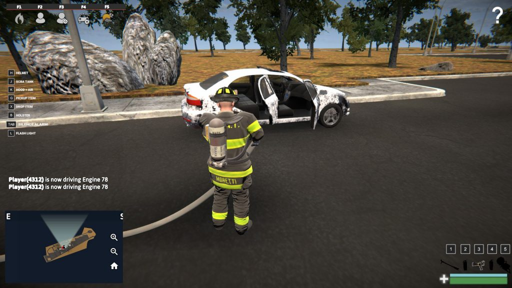 Simulated Erk: EmergNYC episode 4 | Fire Academy, Car Fire