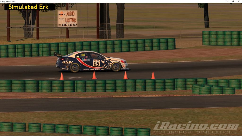 Simulated Erk: iRacing episode 9 | Oran Park Raceway | Open Practice | V8 Supercar