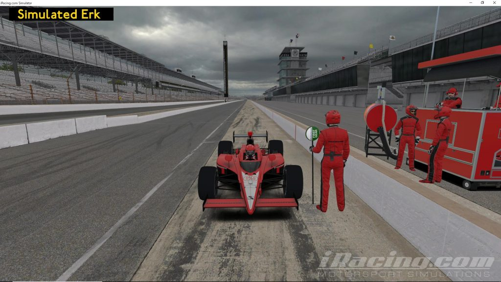 Simulated Erk: iRacing episode 10   Indianapolis Motor Speedway   Testing   Indycar