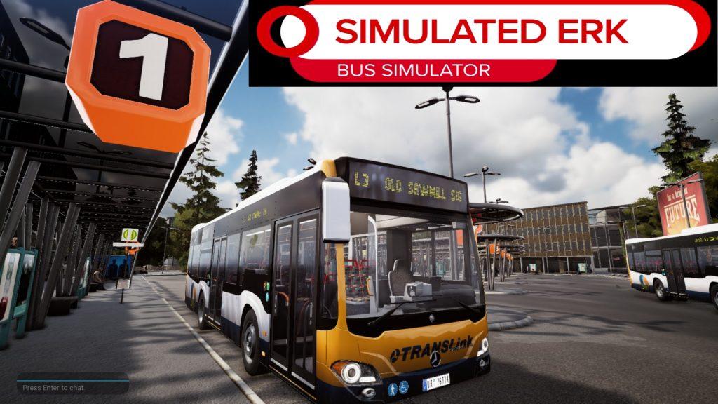Simulated Erk: Bus Simulator episode 17 | Episode of Fail