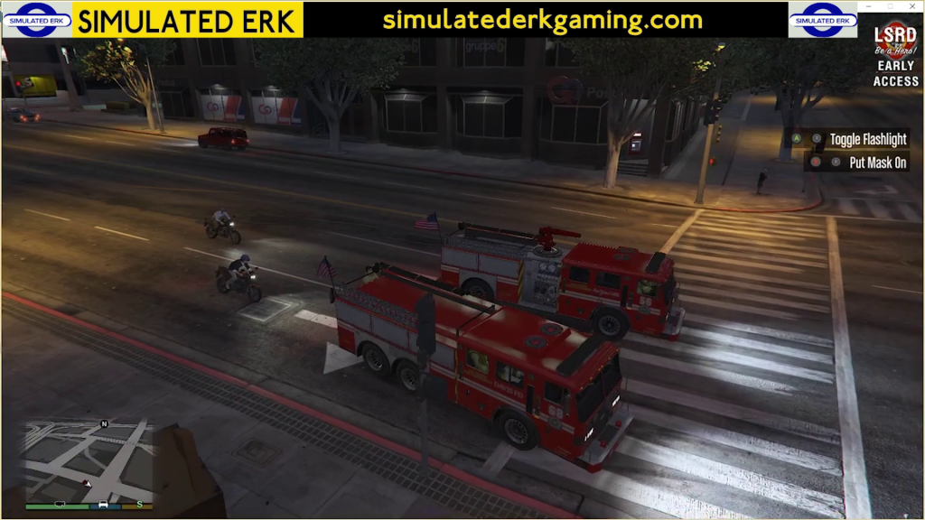 Simulated Erk: Los Santos Fire episode 10 | Back To The City