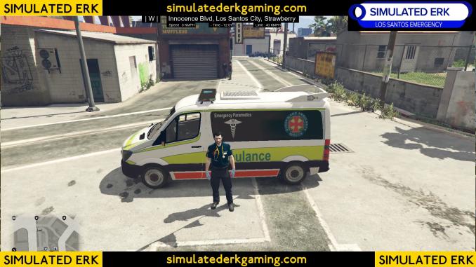 Simulated Erk: Los Santos Emergency Down Under episode 15