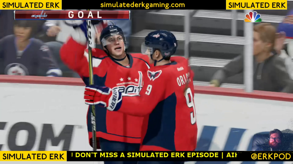 Simulated Erk: NHL Game Day episode 4 | Capitals v Jets