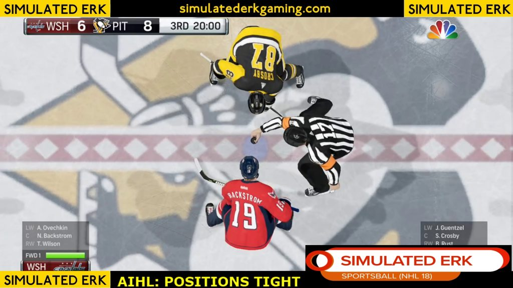 Simulated Erk: NHL Gameday episode 7 | Capitals v Penguins
