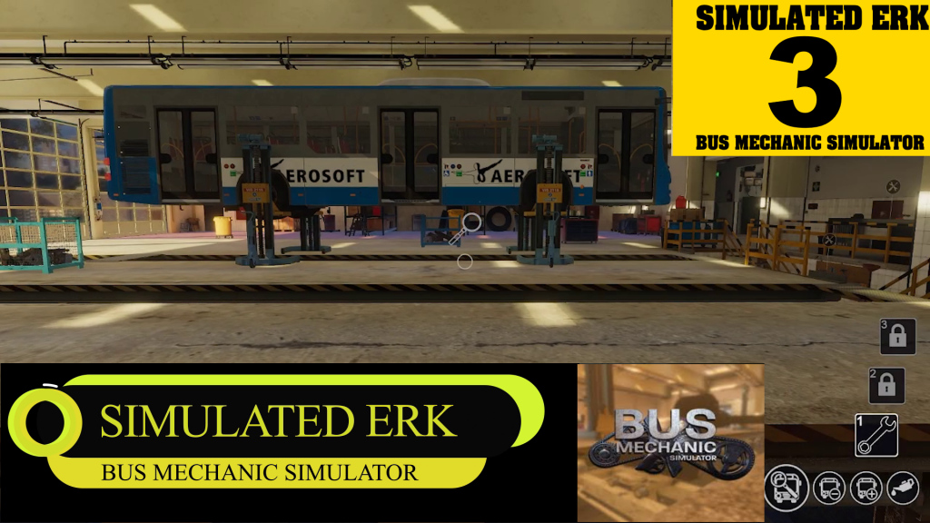 Simulated Erk: Bus Mechanic Simulator episode 3 | A Wheely Good Episode
