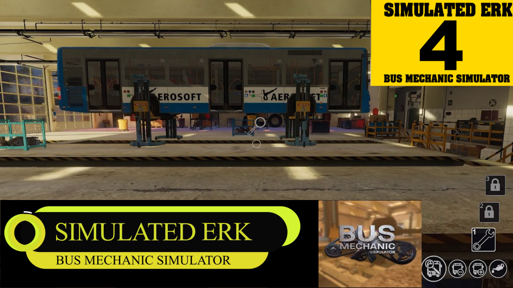 Simulated Erk: Bus Mechanic Simulator episode 4 | Simulated Fluid Bus Mechanic