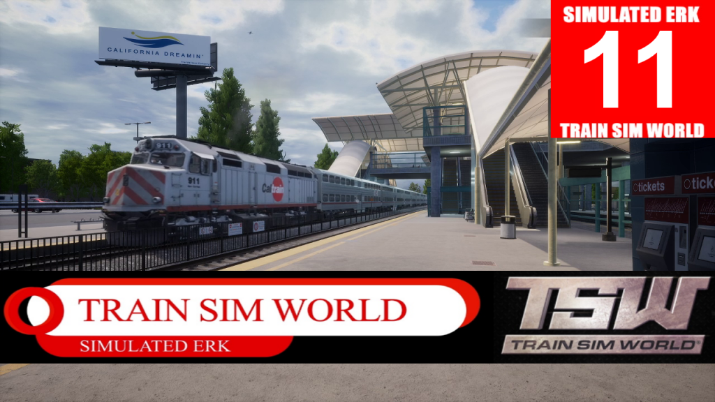 Simulated Erk: Train Sim World episode 11 | Peninsula Corridor First Look