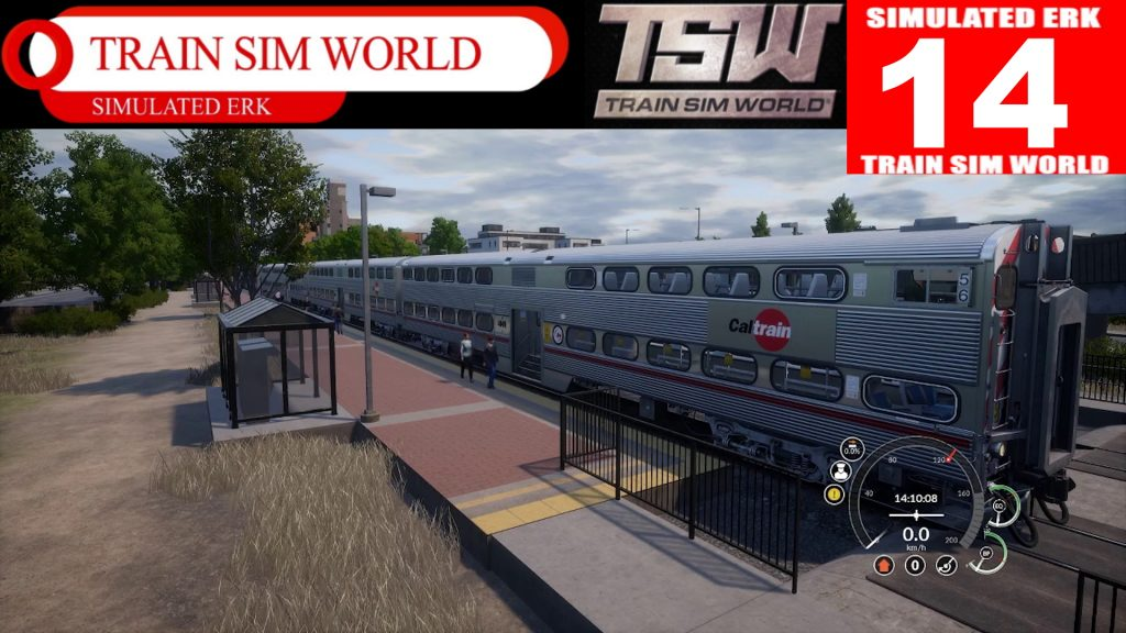 Simulated Erk: Train Sim World episode 14 | Sometimes It's Better To Keep Going (Peninsula Corridor)