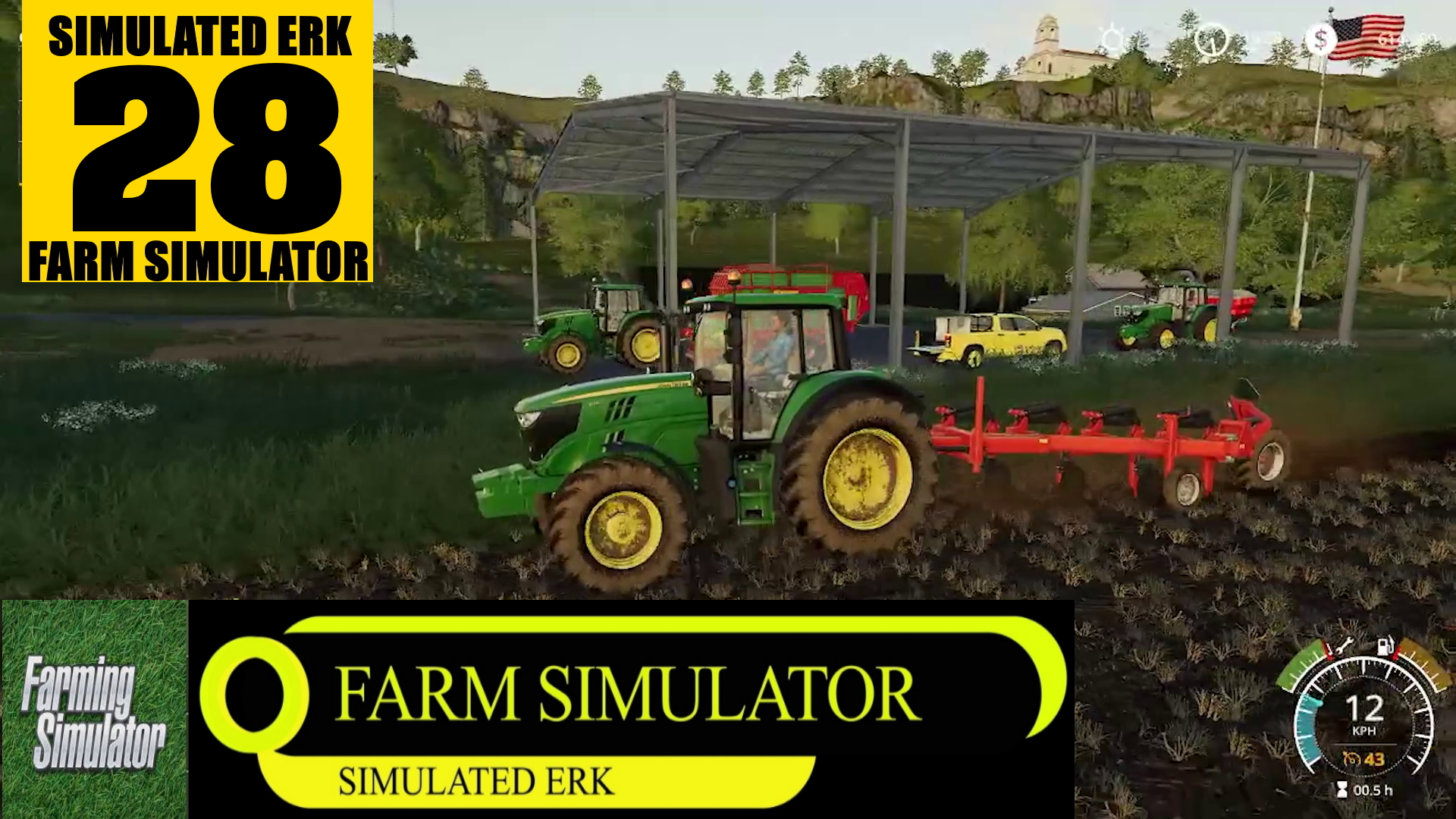 Simulated Erk: Farm Simulator episode 28 | Get To Work, Wayne!