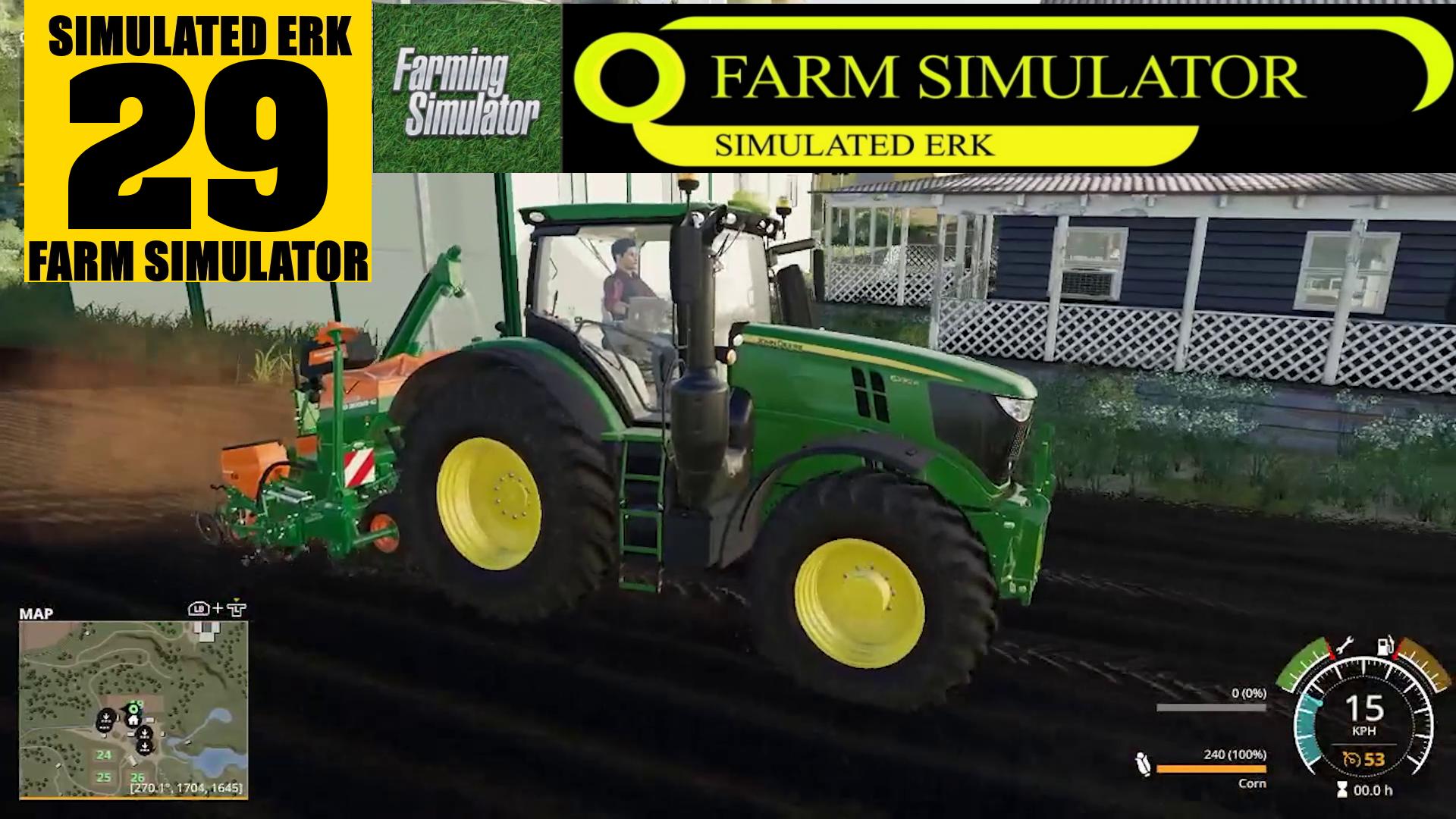 Simulated Erk: Farm Simulator episode 29 | Setting Up A New Farm