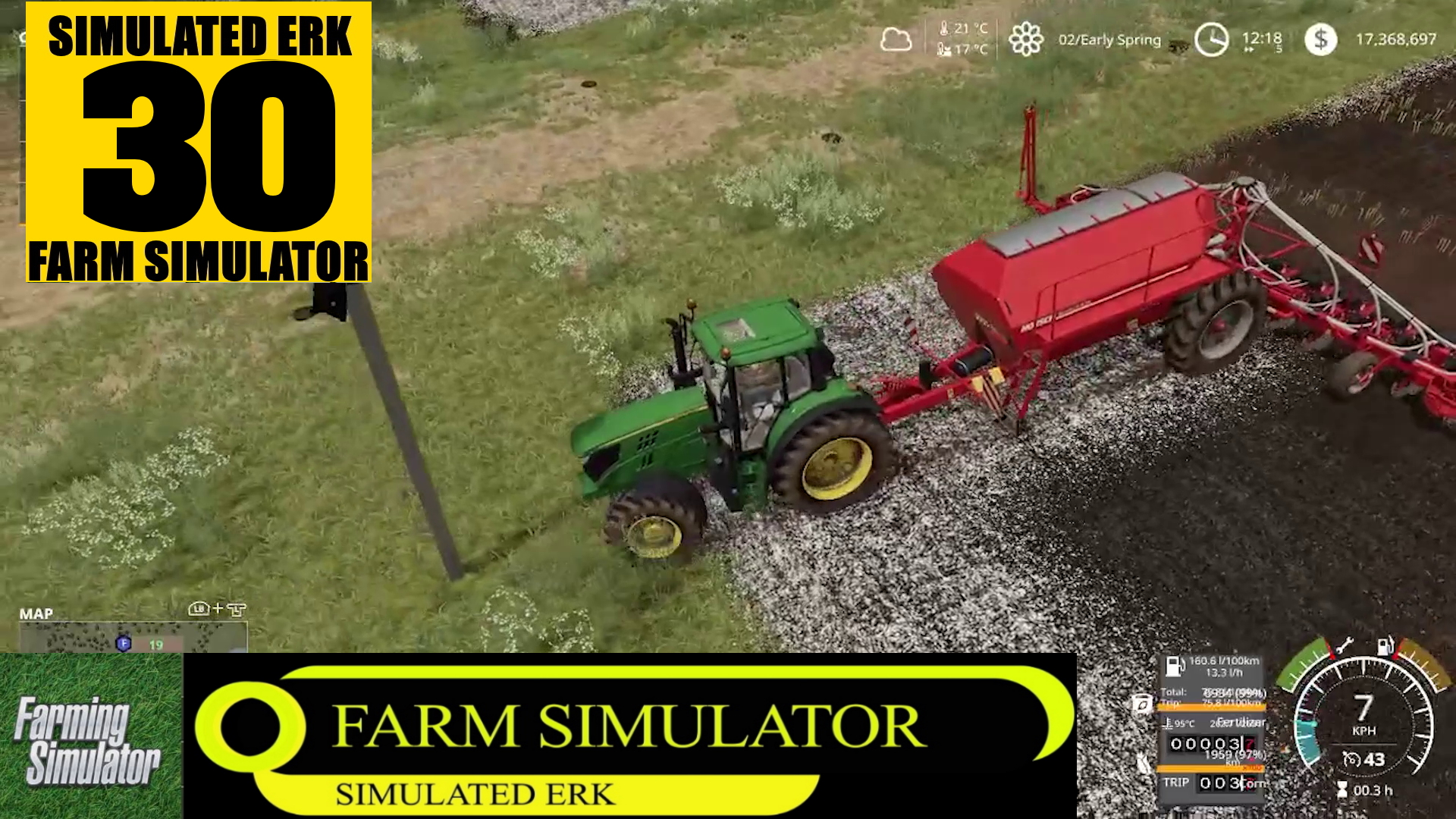 Simulated Erk: Farm Simulator episode 30 – Getting Ready To Harvest