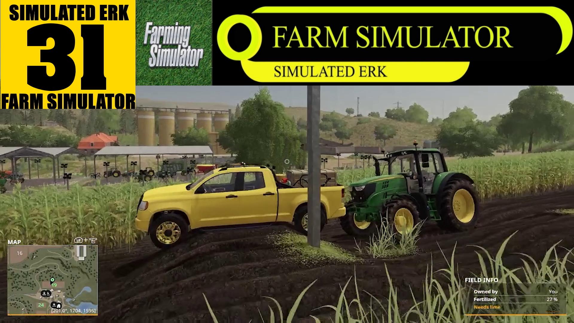 Simulated Erk: Farm Simulator episode 31- Rain Has Stopped Play