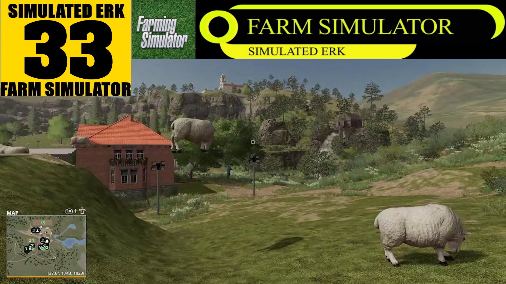 Simulated Erk: Farm Simulator episode 33 | This Isn't Landscape Simulator!