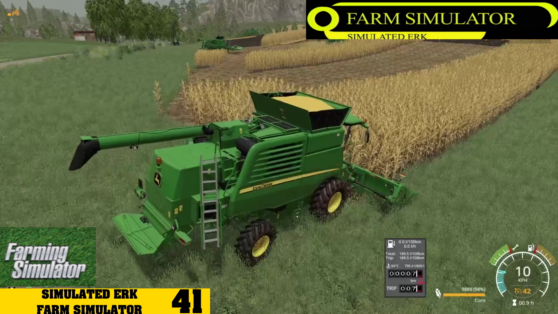 Simulated Erk: Farm Simulator episode 41 | Getting The Harvest On