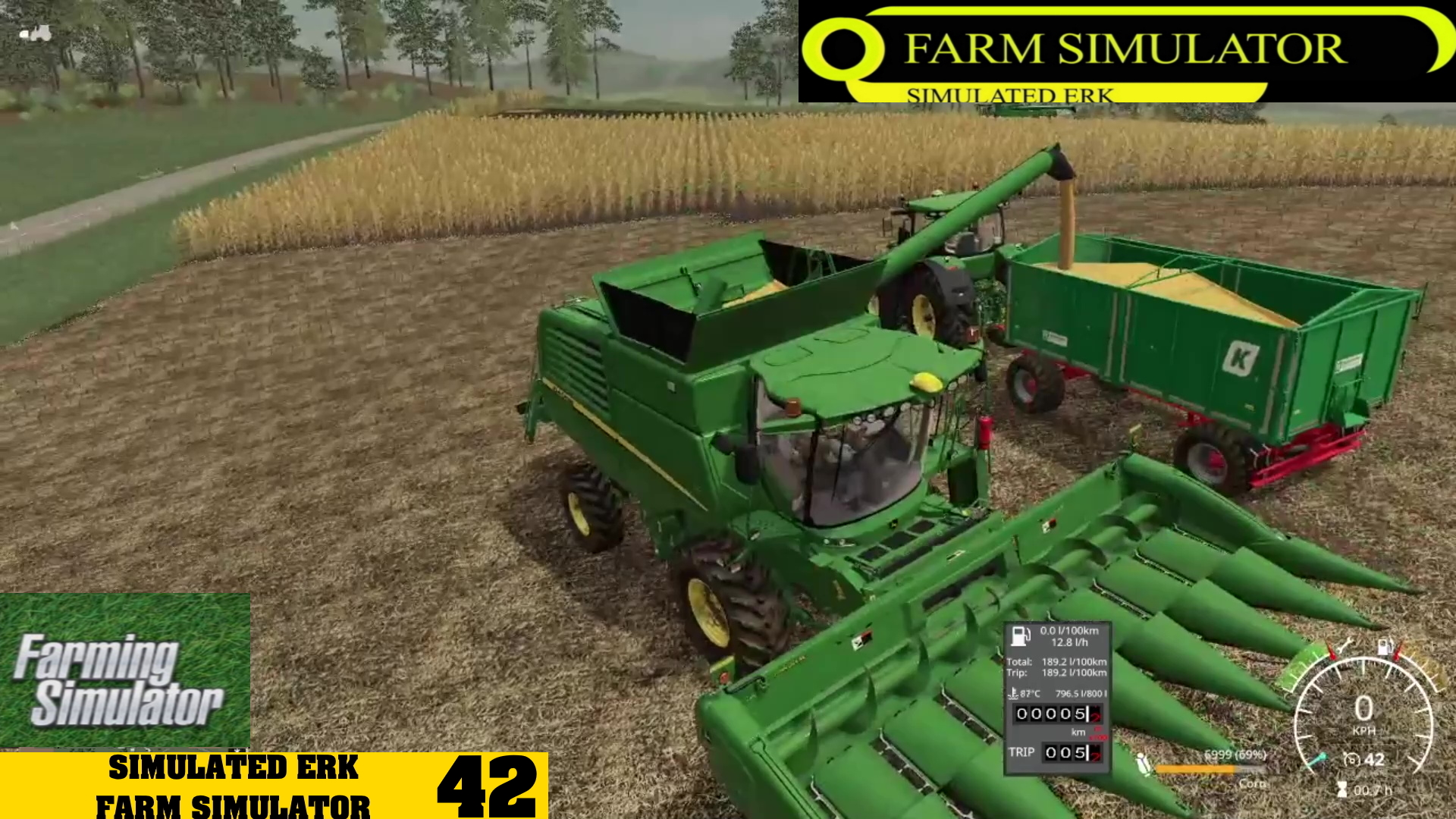 Simulated Erk: Farm Simulator episode 42 | Getting The Harvest On… Again