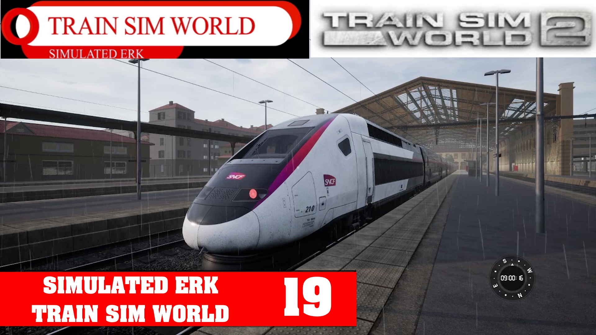 Simulated Erk: Train Sim World episode 19 | TGV Mediterranée Is French For Difficult Training