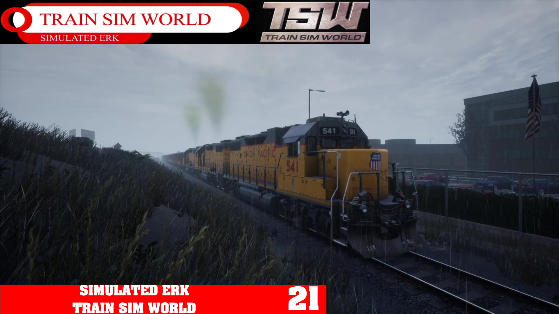 Simulated Erk: Train Sim World episode 21 | San Fran Freighter