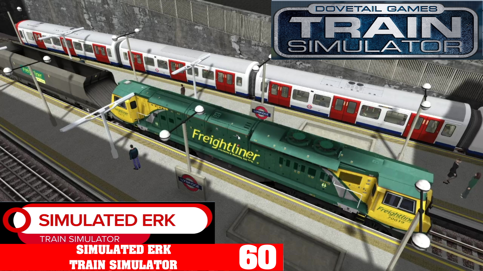 Simulated Erk: Train Simulator episode 60 | London Underground Coal