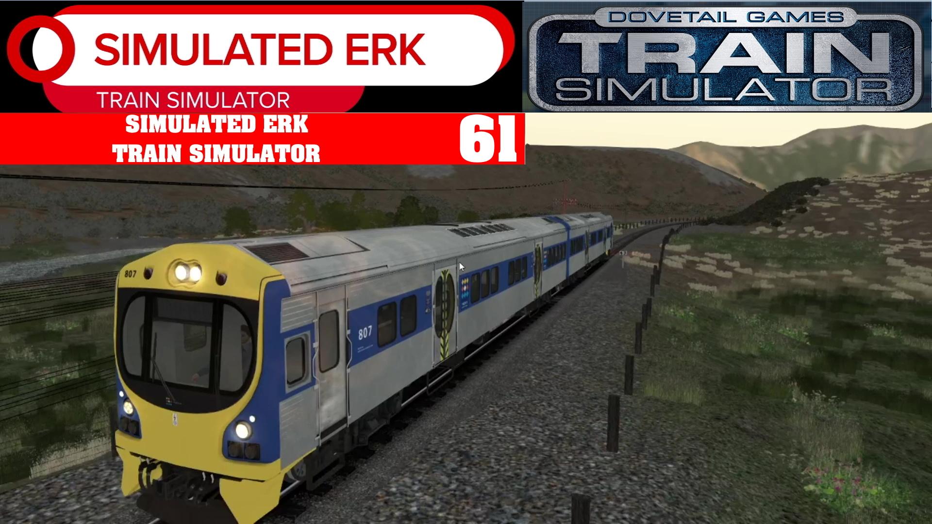 Simulated Erk: Train Simulator episode 61 | Kiwi Midland Introduction