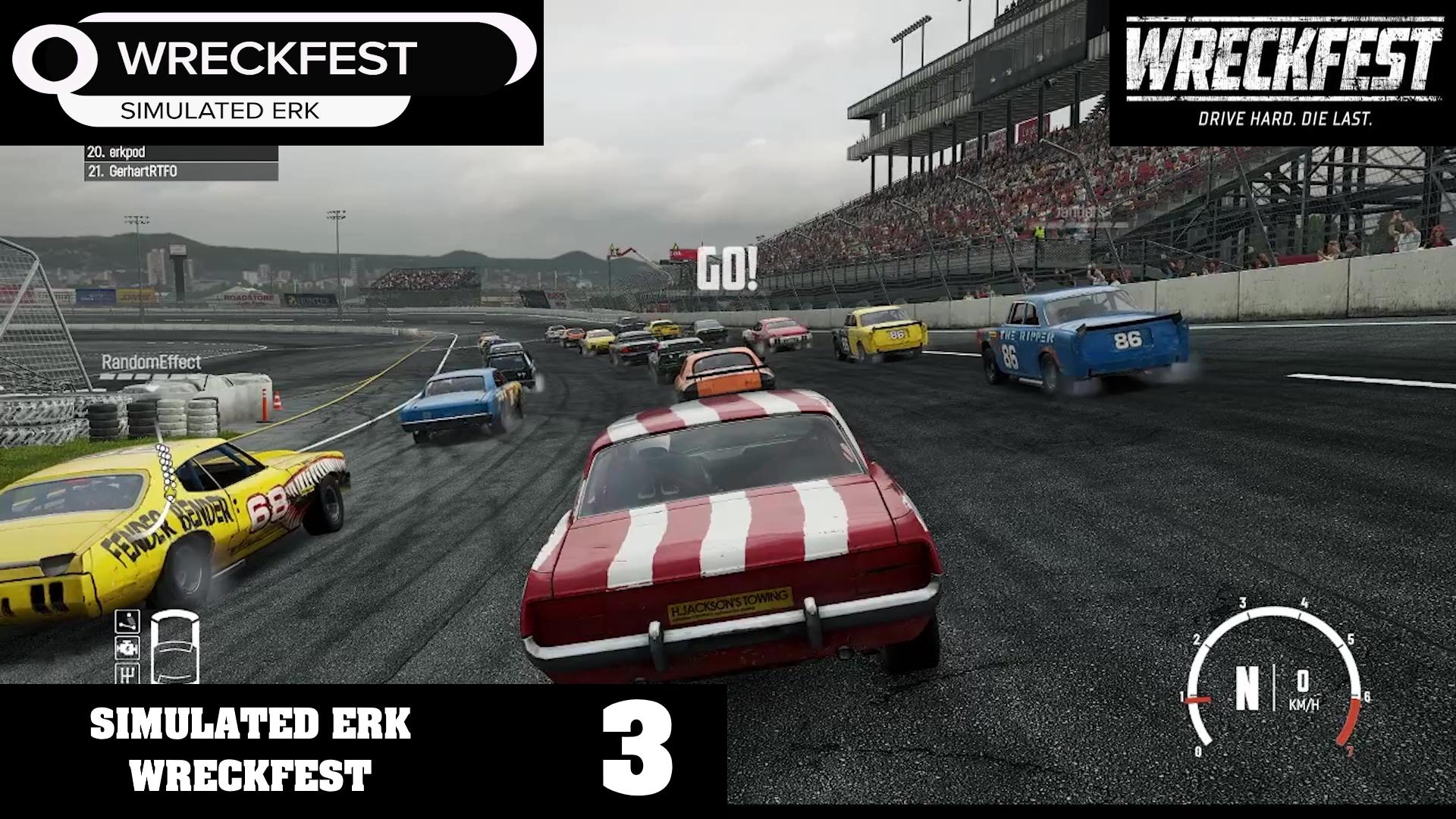Simulated Erk: Wreckfest episode 3 | Here For The Carnage