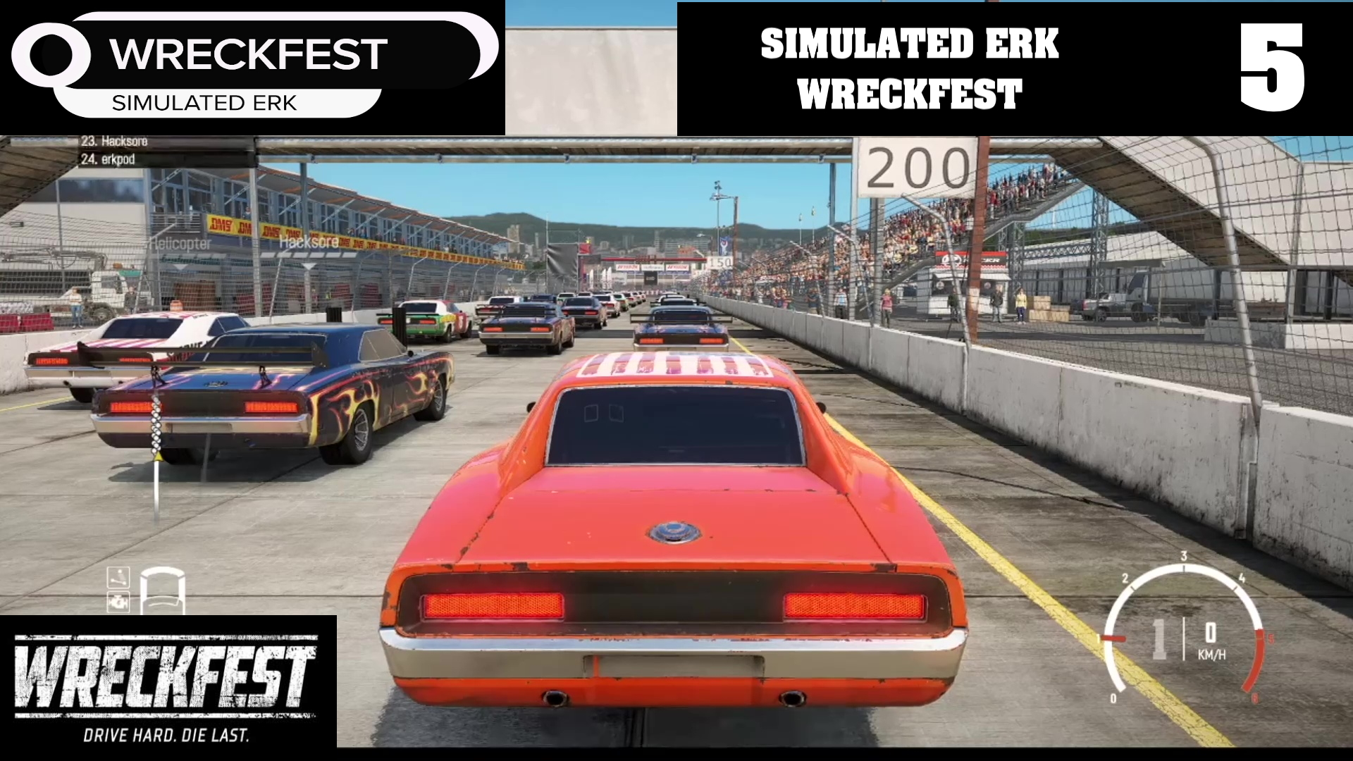 Simulated Erk: Wreckfest episode 5 | Much Better Than Turning To The Left