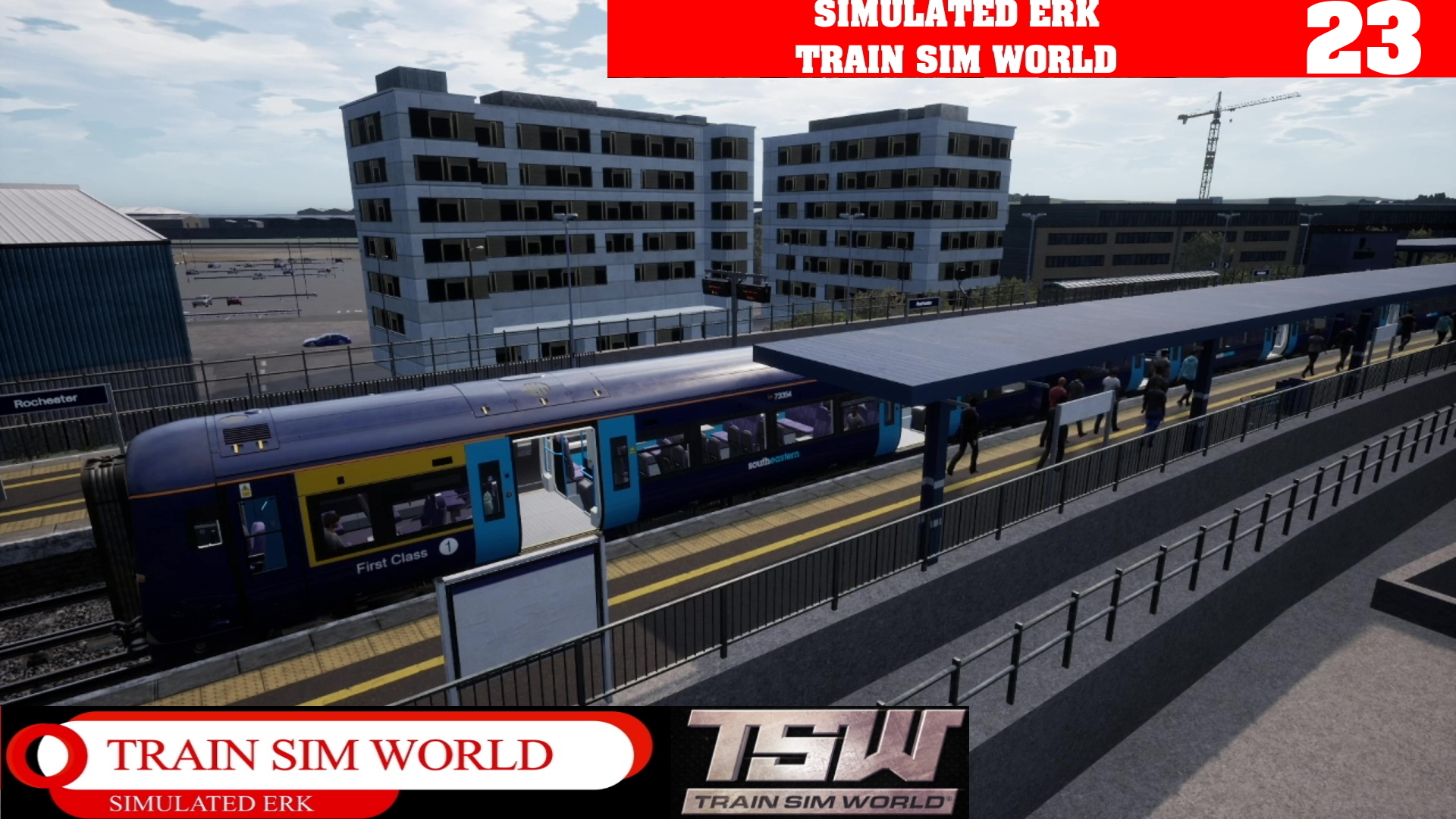 Simulated Erk: Train Sim World episode 23 | Welcome To Southeastern Highspeed