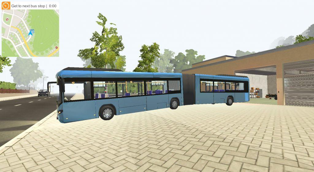 Simulated Erk: Bus Simulator 2016 episode 1 | Suburban District