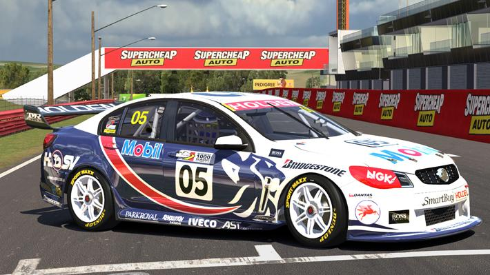 Simulated Erk: iRacing episode 3   Daytona, Road Course   Testing   V8 Supercar