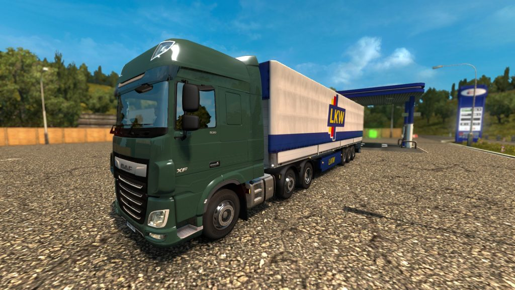 Simulated Erk: Euro Truck Simulator episode 6   Going Nutty In Europe