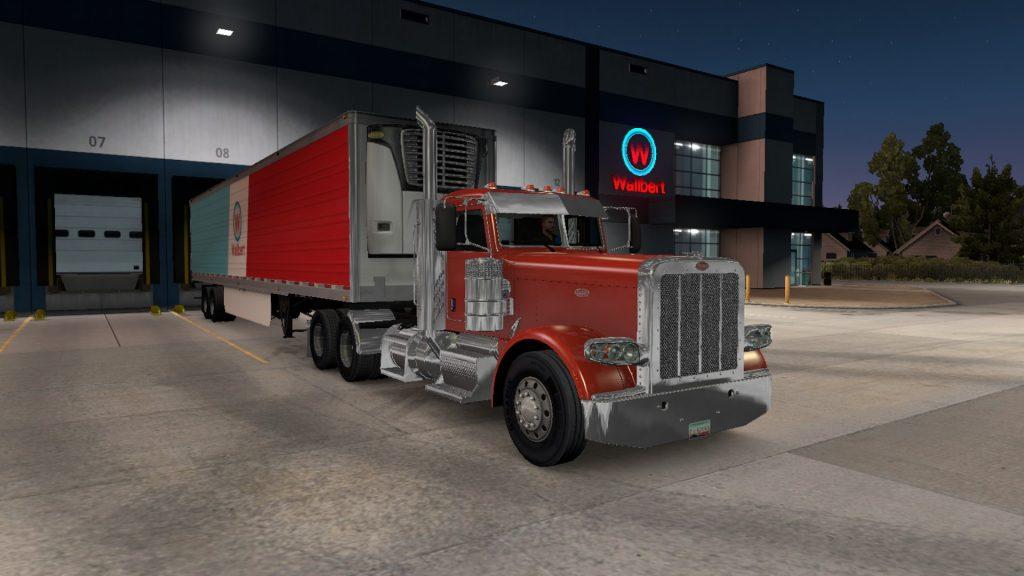 Simulated Erk: Truck Simulators: American Truck Simulator episode 8 |  XXXXXXXX Marks The Spot