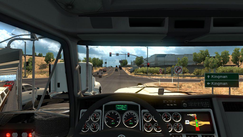 Simulated Erk: Truck Simulators: American Truck Simulator episode 6 | Exploring Nevada