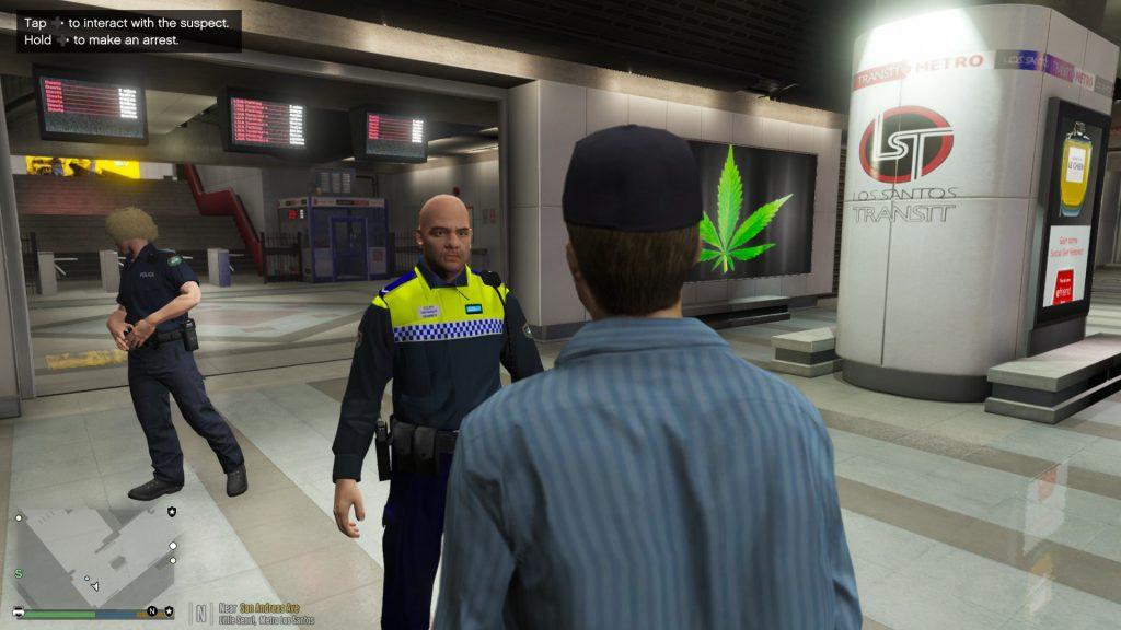 Simulated Erk: Los Santos Emergency Blue episode 1 | Transit Patrol