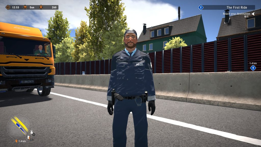 Simulated Erk: Autobahn Patrol episode 2   The Case Of The Wayward Washing Machine