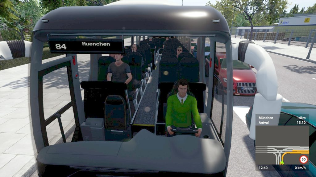 Simulated Erk: Fernbus Coach Simulator episode 2  | Coaching To The Airport