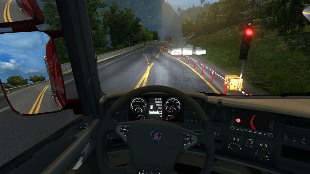 Simulated Erk: Euro Truck Simulator episode 8   Driving Around Norway Norway!