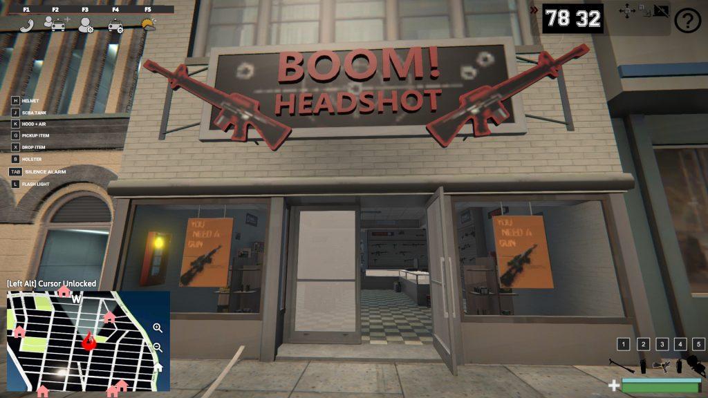 Simulated Erk: EmergNYC episode 8 | Gun Shop Fire