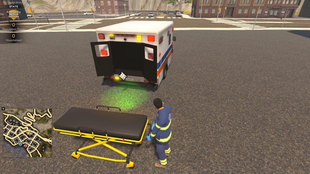 Simulated Erk: Flashing Lights episode 5 | Back On The Ambulance