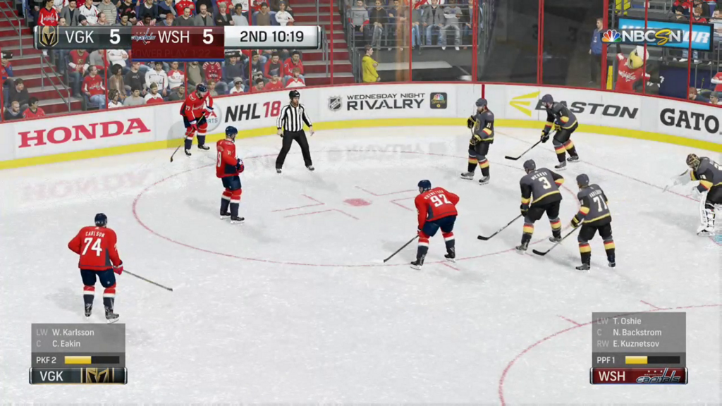 Simulated Erk: NHL Goal Day episode 1 | Capitals v Knights