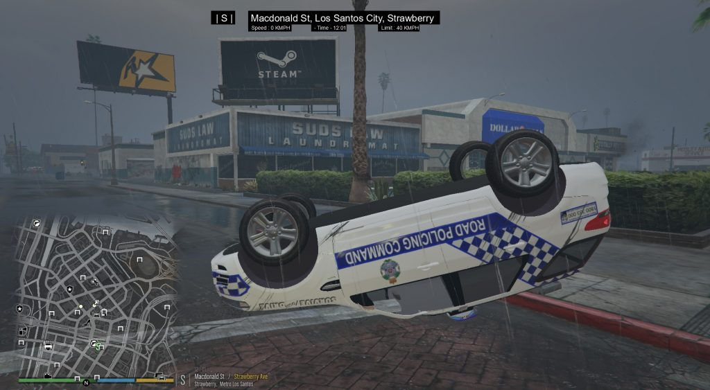 Simulated Erk: Los Santos Emergency Blue episode 58   Life Is A Highway Until You Join Polair