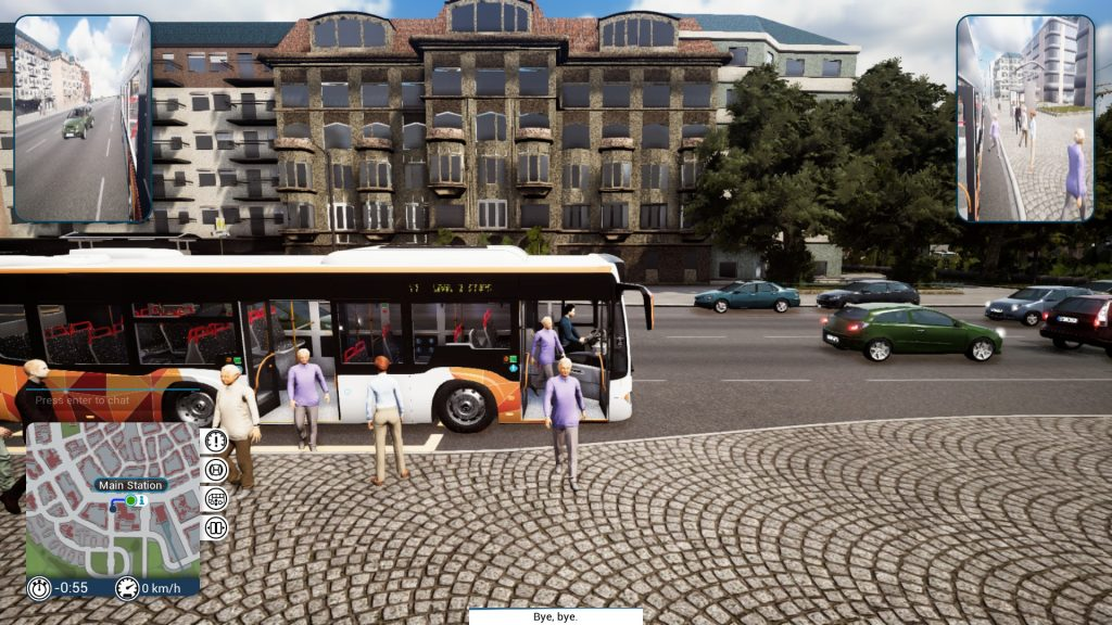 Simulated Erk: Bus Simulator episode 14 | Harbour Drive