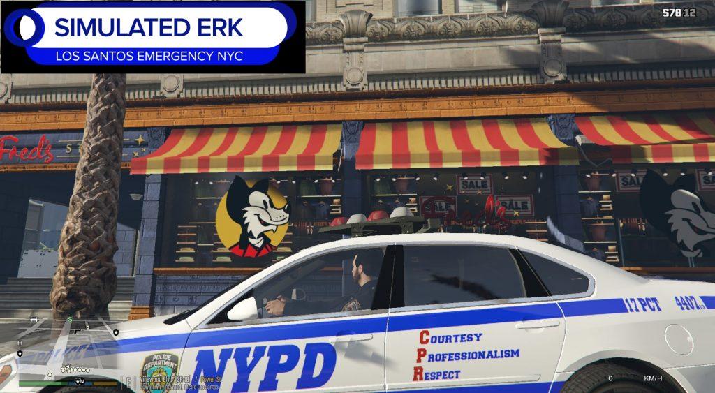 Simulated Erk: Los Santos Emergency Blue episode 47   Leading By Example