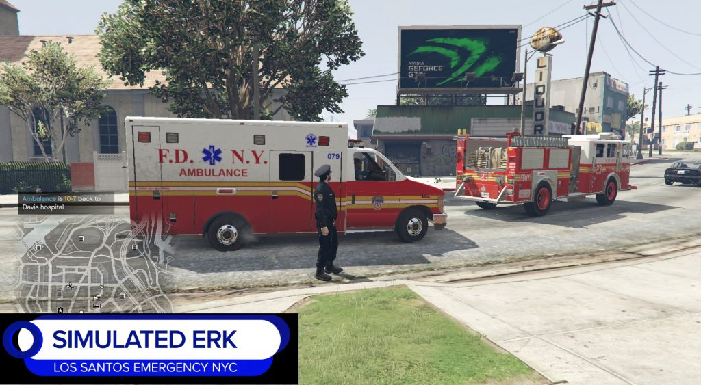 Simulated Erk: Los Santos Emergency Red episode 6 | Busy Night On The Bus (Ambulance)