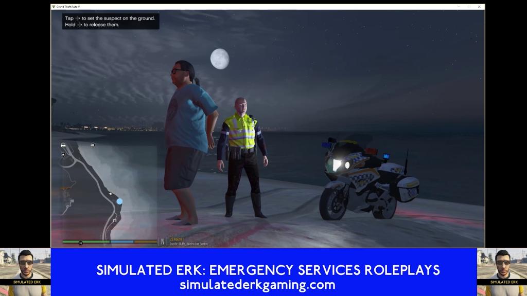 Simulated Erk: Los Santos Emergency Blue episode 61   2 Wheels Better Than 4?